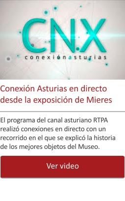 Conexión Asturias en directo desde la exposición de Mieres