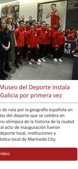 Tras visitar trece ciudades el Museo del Deporte instala su exposición 'LEYENDAS' en Galicia por primera vez