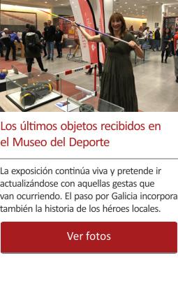 Los últimos objetos recibidos en el Museo del Deporte