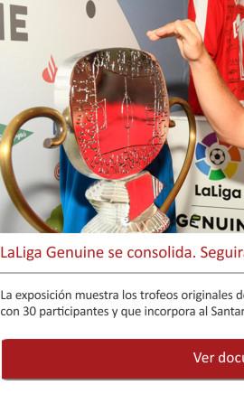 LaLiga Genuine se consolida y también sigue presente en Coruña