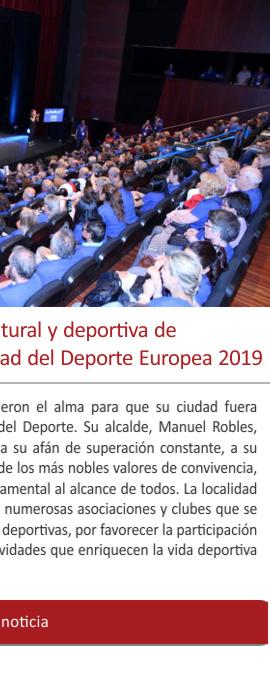 LEYENDAS será la gran cita cultural y deportiva de Fuenlabrada, la flamante Ciudad del Deporte Europea 2019