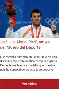 José Luis Abajo 'Pirri', amigo del Museo