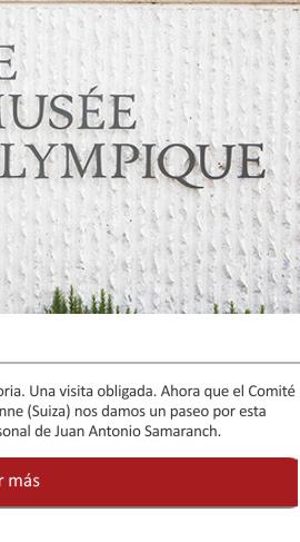El Museo olímpico de Lausanne