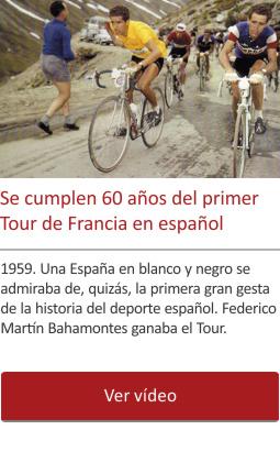 60 años del primer Tour de Francia en español