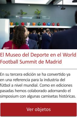 El Museo del Deporte en el World Football Summit de Madrid