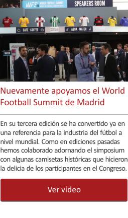Nuevamente apoyamos el World Football Summit de Madrid