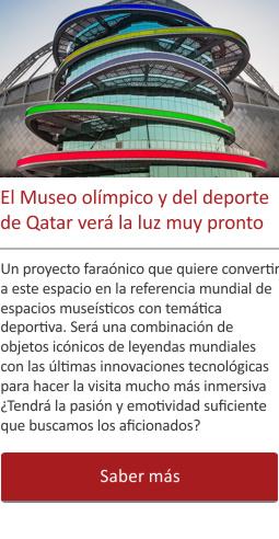 El Museo olímpico y del deporte de Qatar verá la luz muy pronto