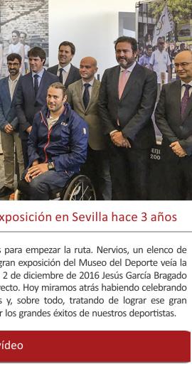 Así inauguramos la primera gran exposición en Sevilla hace 3 años