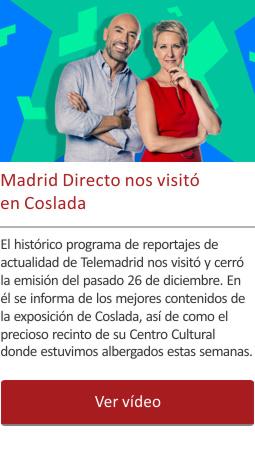 Madrid Directo nos visitó en Coslada