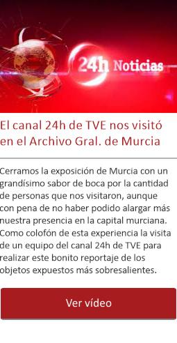 El canal 24h de TVE nos visitó en Murcia