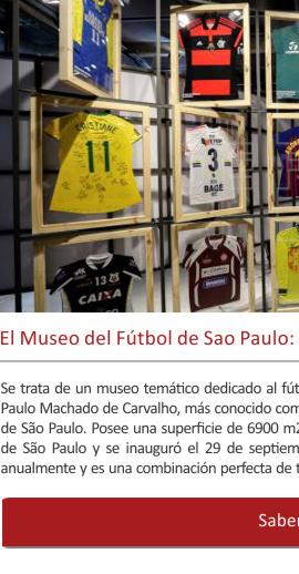 El Museo del Fútbol de Sao Paulo: el Museo más popular de Brasil