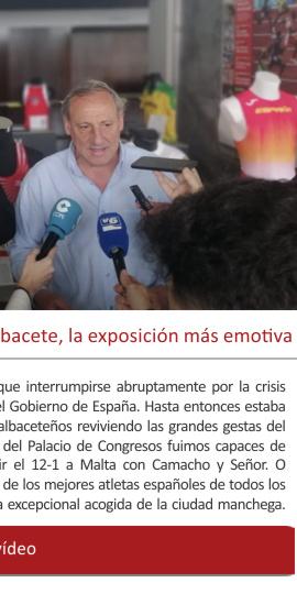 El abrupto final de LEYENDAS en Albacete, la exposición más emotiva