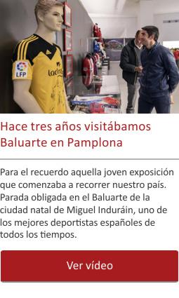 Hace tres años visitábamos Baluarte en Pamplona