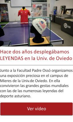 Hace dos años desplegábamos LEYENDAS en la Universidad de Oviedo
