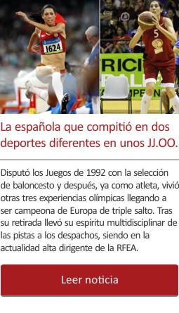 La española que compitió en dos deportes diferentes en unos JJ.OO.