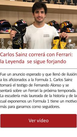 Carlos Sainz correrá con Ferrari. La Leyenda  se sigue forjando