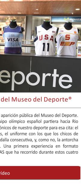 Hoy se cumplen cuatro años de actividad del Museo del Deporte