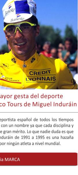 Se cumplen 25 años de la mayor gesta del deporte español del siglo XX