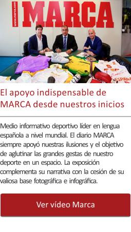 El apoyo indispensable de MARCA desde los inicios