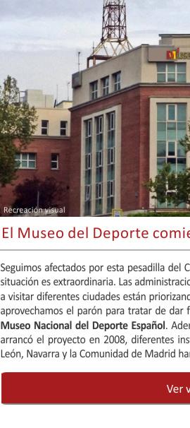 El Museo del Deporte® comienza a buscar sede fija
