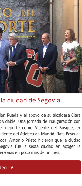 Hace tres años visitábamos la ciudad de Segovia