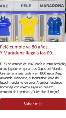 Pelé cumple 80 años. Y Maradona 60…