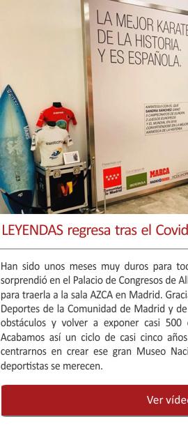 Gran exposición en Madrid: el Museo del Deporte regresa tras el Covid