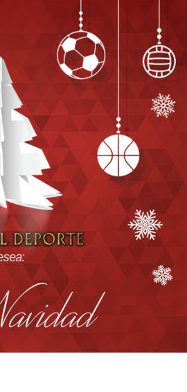 Museo del Deporte te desea feliz Navidad