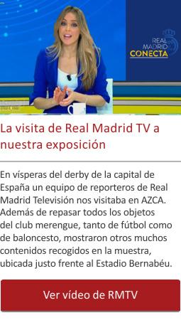 La visita de Real Madrid TV a nuestra exposición