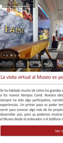 La visita virtual al Museo es ya una realidad (en versión BETA)