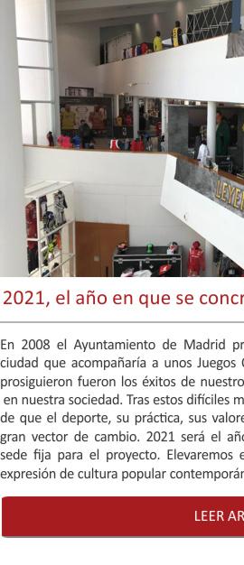 2021, el año en que se concretará la sede fija del Museo