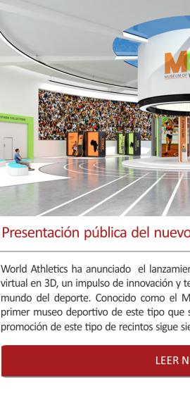 Presentación pública del nuevo Museo Mundial del Atletismo