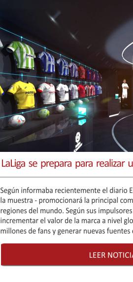 LaLiga se prepara para realizar una exhibición itinerante mundial