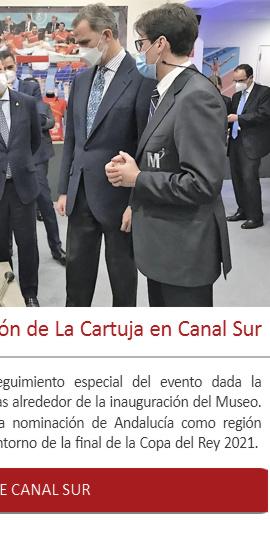 La inauguración de la exposición de La Cartuja en Canal Sur