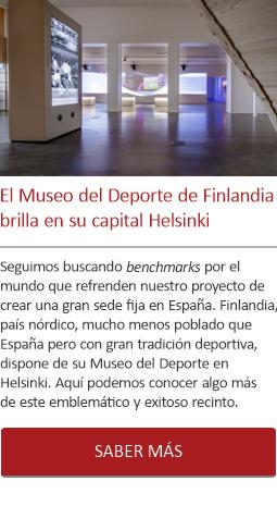 El Museo del Deporte de Finlandia