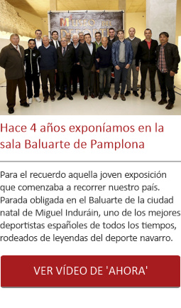 Hace 4 años exponíamos en la sala Baluarte de Pamplona