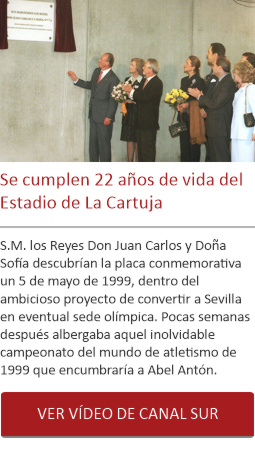 Se cumplen 22 años de vida del Estadio de La Cartuja