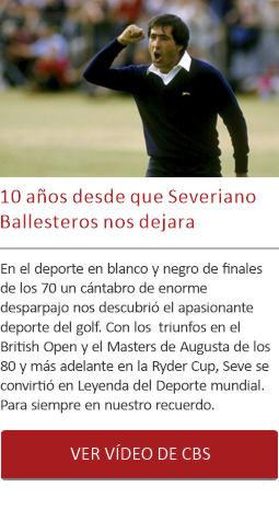 10 años desde que Severiano Ballesteros nos dejara