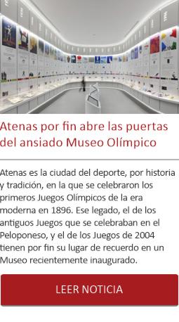 Atenas por fin abre las puertas del añorado Museo Olímpico