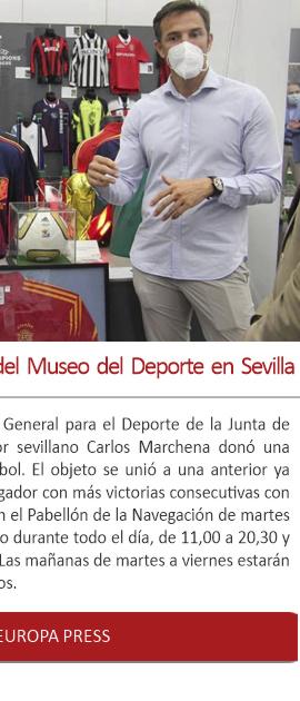 Inaugurada la nueva exposición del Museo del Deporte en Sevilla