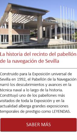La historia del recinto del pabellón de la navegación de Sevilla