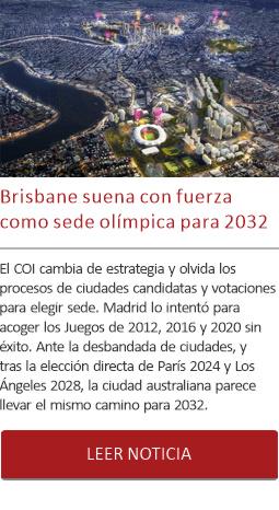 Brisbane suena con fuerza como sede olímpica para 2032