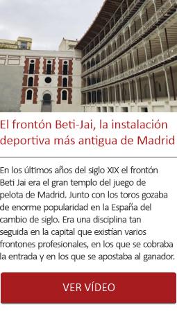 El Beti-Jai, la instalación deportiva más antigua de Madrid