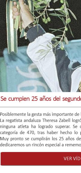 Se cumplen 25 años del segundo oro olímpico de Theresa Zabell