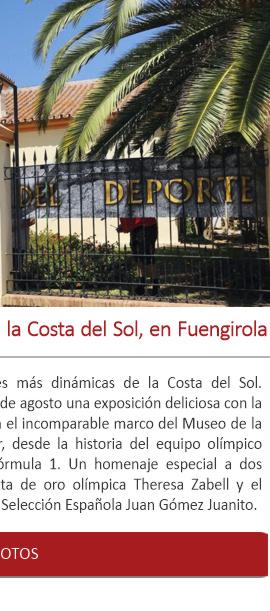 Nueva exposición veraniega en la Costa del Sol, en Fuengirola