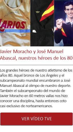 Javier Moracho y José Manuel Abascal héroes de los 80