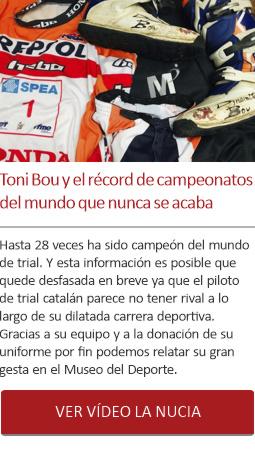 Toni Bou y el récord de campeonatos del mundo que no para