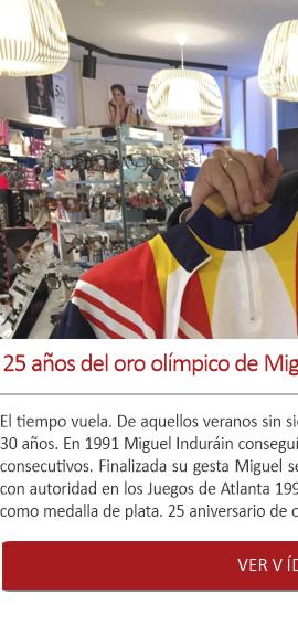 25 años del oro olímpico de Miguel Induráin y 30 de su 1er Tour