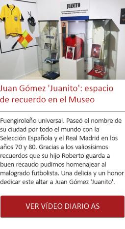 Juan Gómez 'Juanito': espacio de recuerdo en el Museo