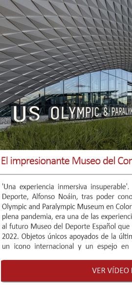 El impresionante Museo del Comité Olímpico y Paralímpico USA